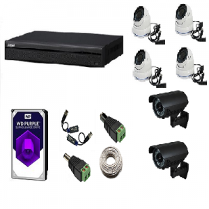 Kits 6 cámaras